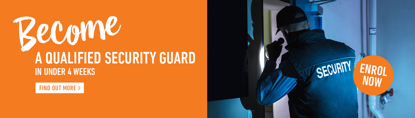 Become a qualified Security Guard at Kangan Institute