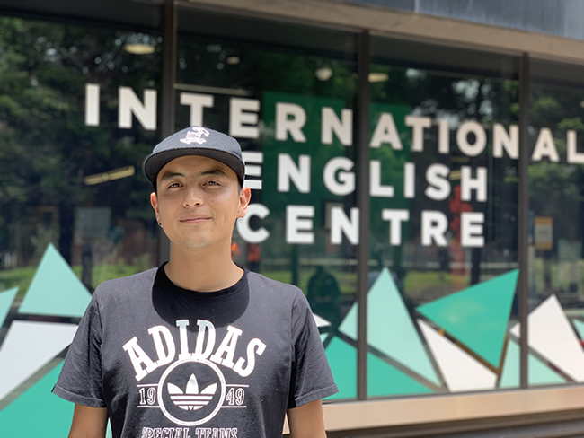 Meet Santiago – Student of General English