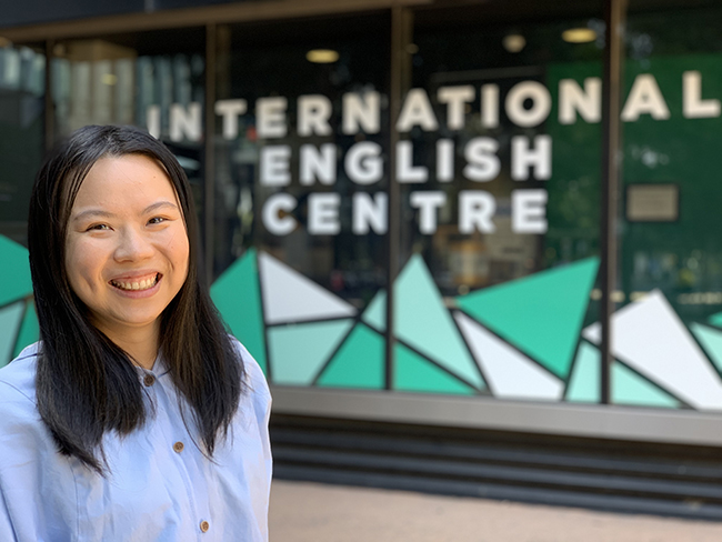 Meet Jessie Lin – Student of General English