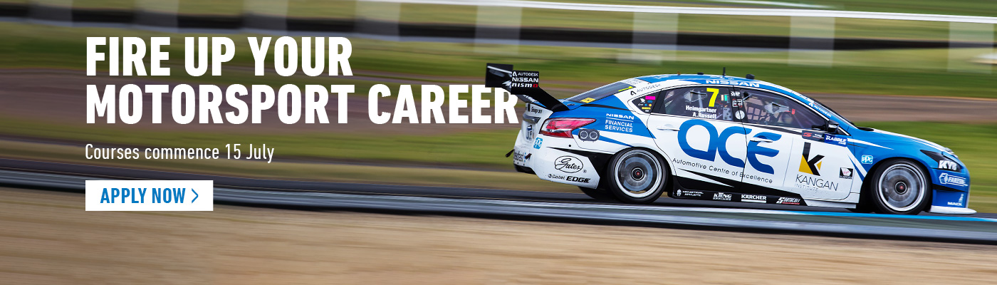 Kangan Institute Motorsport Courses