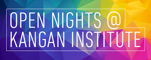 Open nights @ Kangan Institute
