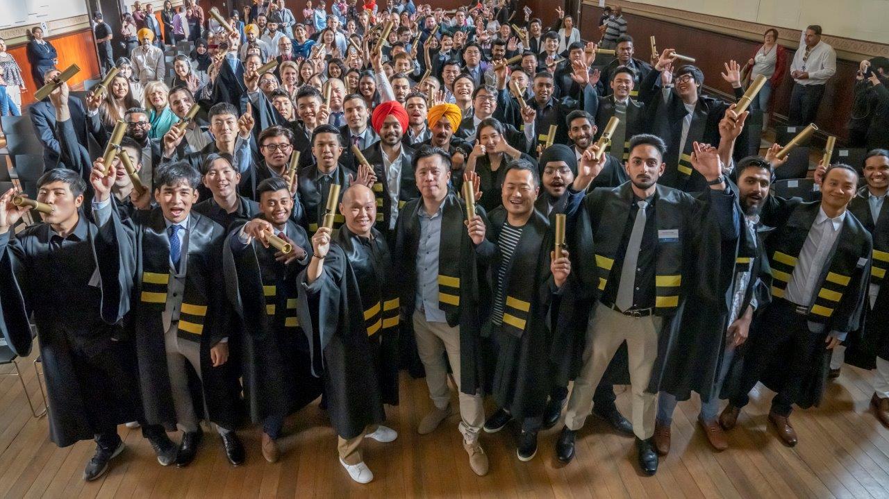 Kangan Institute's 2019 international graduates