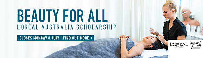 Applications now open for L'Oréal Beauty for All Scholarships