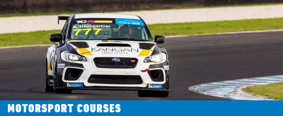 Motorsport Courses at Kangan Institute