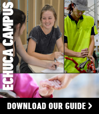 Courses at Echuca Campus