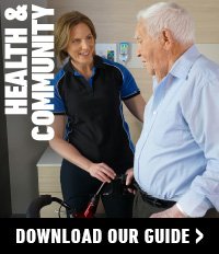 Health and Community courses
