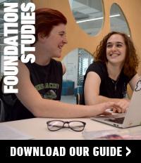 Foundation Studies courses