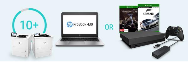 Get a HP Probook 430 or Xbox One X 1TB Bundle