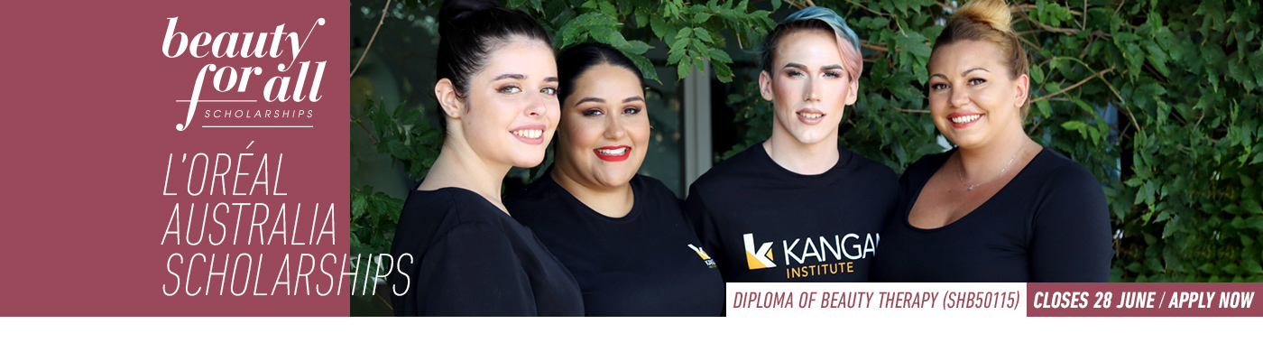 LOreal Australia Beauty for All Scholarship at Kangan Institute