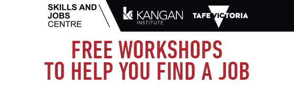 Free Workshop to help you find a job