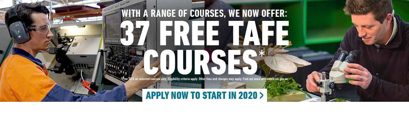 Free TAFE Courses at Kangan Institute