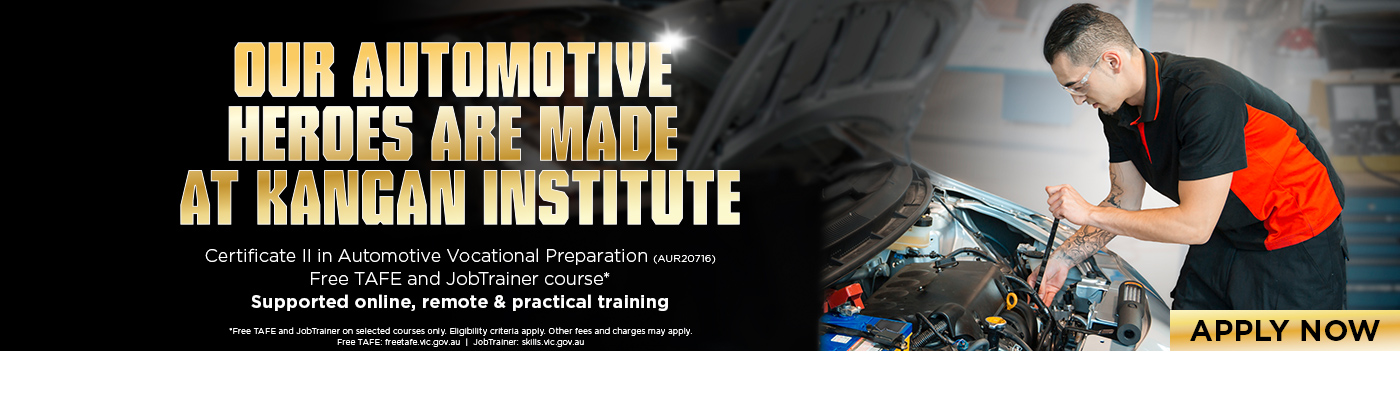 Certificate II In Automotive Vocational Preparation