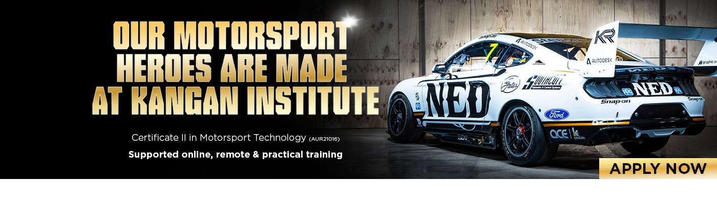 Certificate II In Motorsport Technology at Kangan Institute