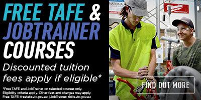 Free TAFE & JobTrainer