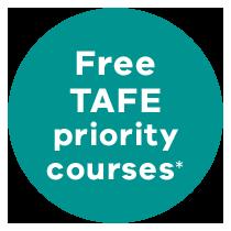 FREE TAFE priority courses