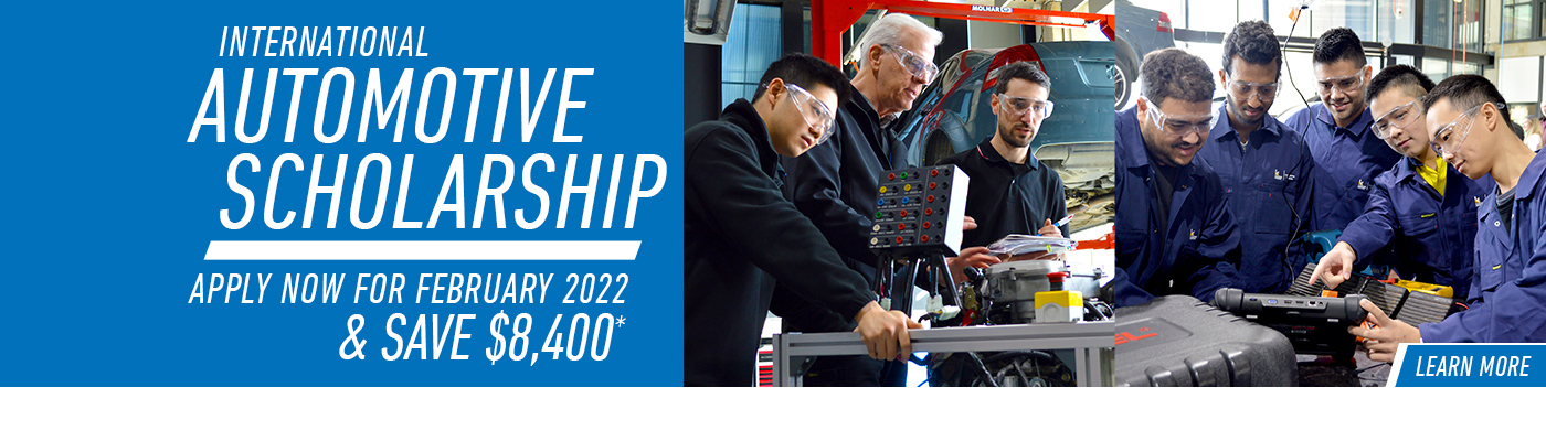 Apply for the February 2022 intake and receive a one semester scholarship equivalent to the value of $8,400