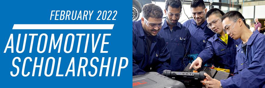 February 2022   Automotive Scholarship