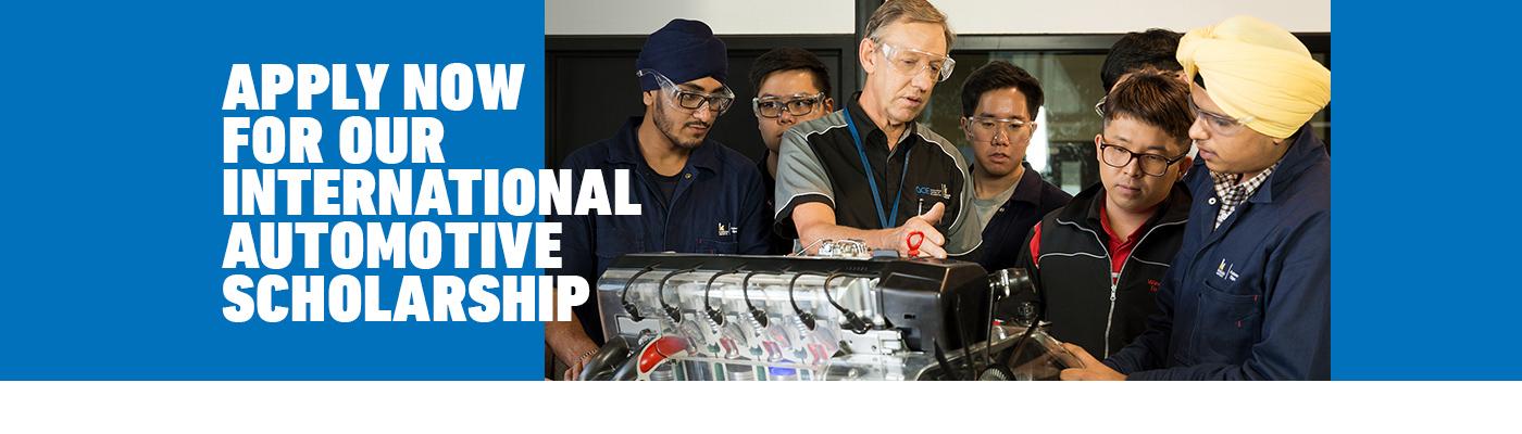 International Automotive Scholarship at Kangan Institute