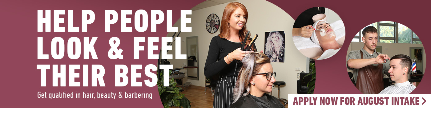 Hair Beauty and Barbering at Kangan Institute Apply now for August Intake
