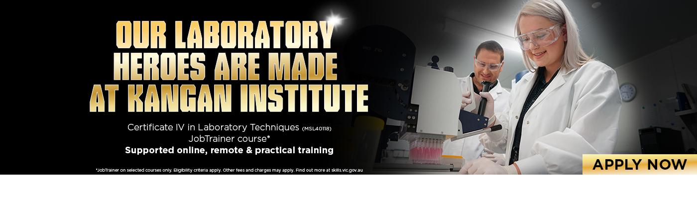 Certificate IV In Laboratory Techniques