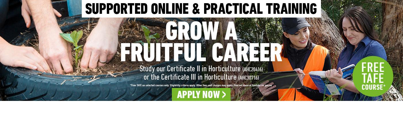 Horticulture courses at Kangan Institute