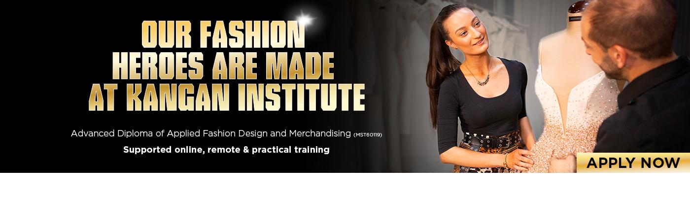 Fashion Design and Merchandising at Kangan Institute