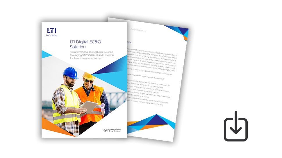 Brochure: LTI's Digital EC&O Solution