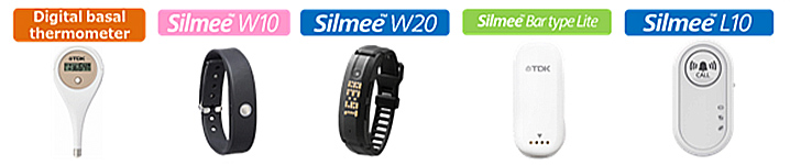 Biosensor Silmee™ compatible with health care and various other applications