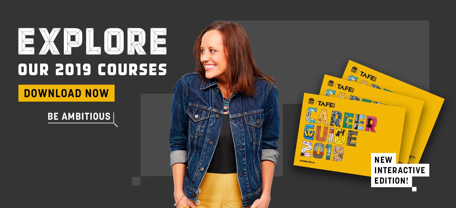 Explore our 2019 courses